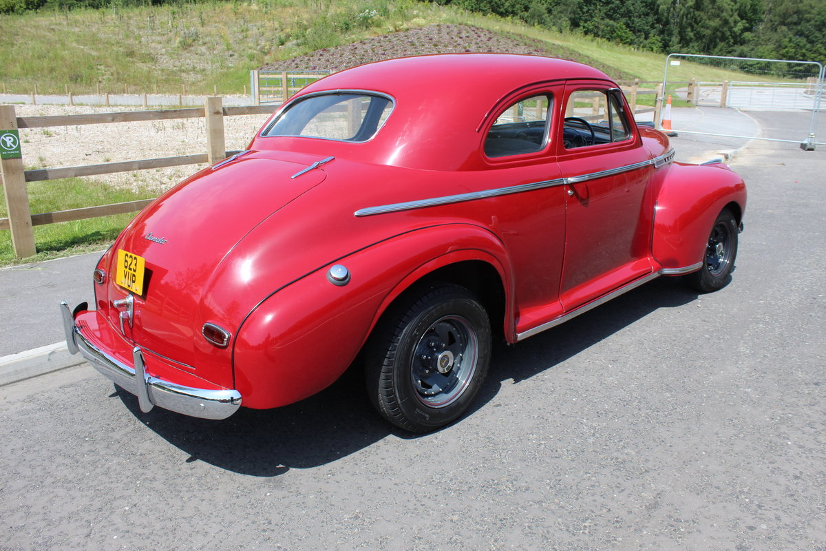 1941 Chevrolet Coupe Deluxe RHD excellent condition For Sale (picture 3 of 6)