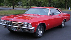 1965 Impala SS L78 425hp Fully restored super rare car ! For Sale