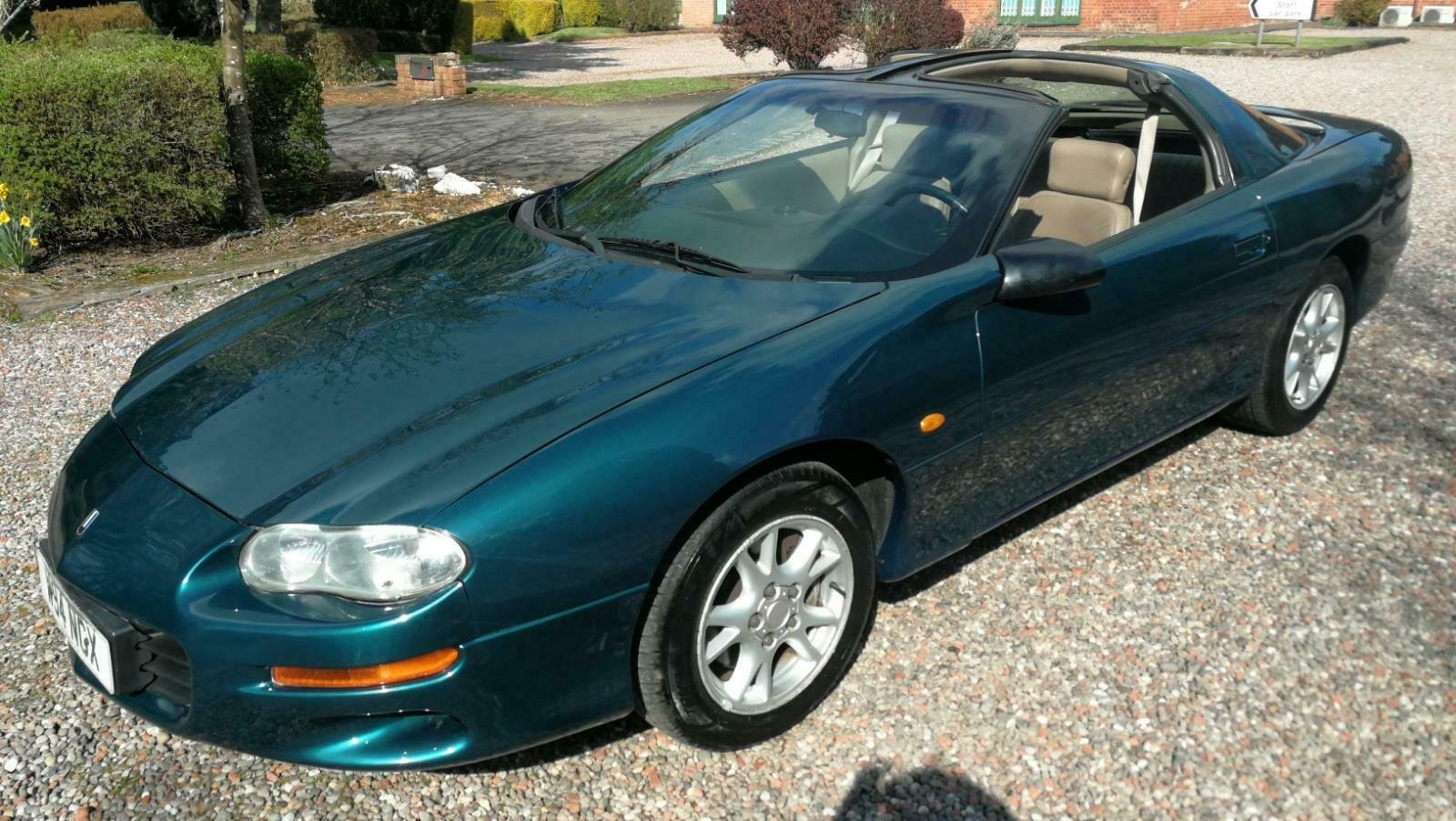 2000 Cheverolt Camero 3.8Auto T bar 83k FSH UK car since NEW SOLD (picture 2 of 4)