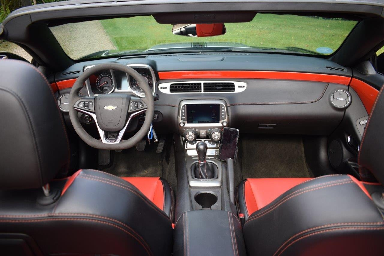 2013 Chevrolet Camaro SS 6.2i V8 Convertible 6-Speed Manual SOLD (picture 6 of 6)