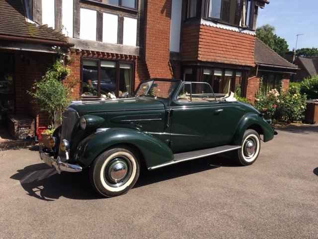 1937 Chevrolet Master Convertible For Sale (picture 1 of 6)