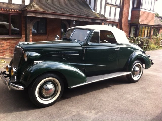 1937 Chevrolet Master Convertible For Sale (picture 2 of 6)