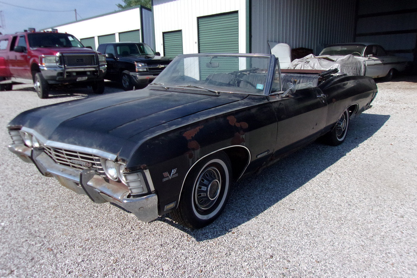 1967 Chevrolet Impala SS 396 convertible  For Sale (picture 1 of 6)
