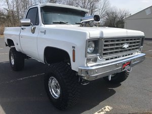 1975 Chevy K10 4X4 (Berkeley Heights, NJ) $40,000 obo For Sale
