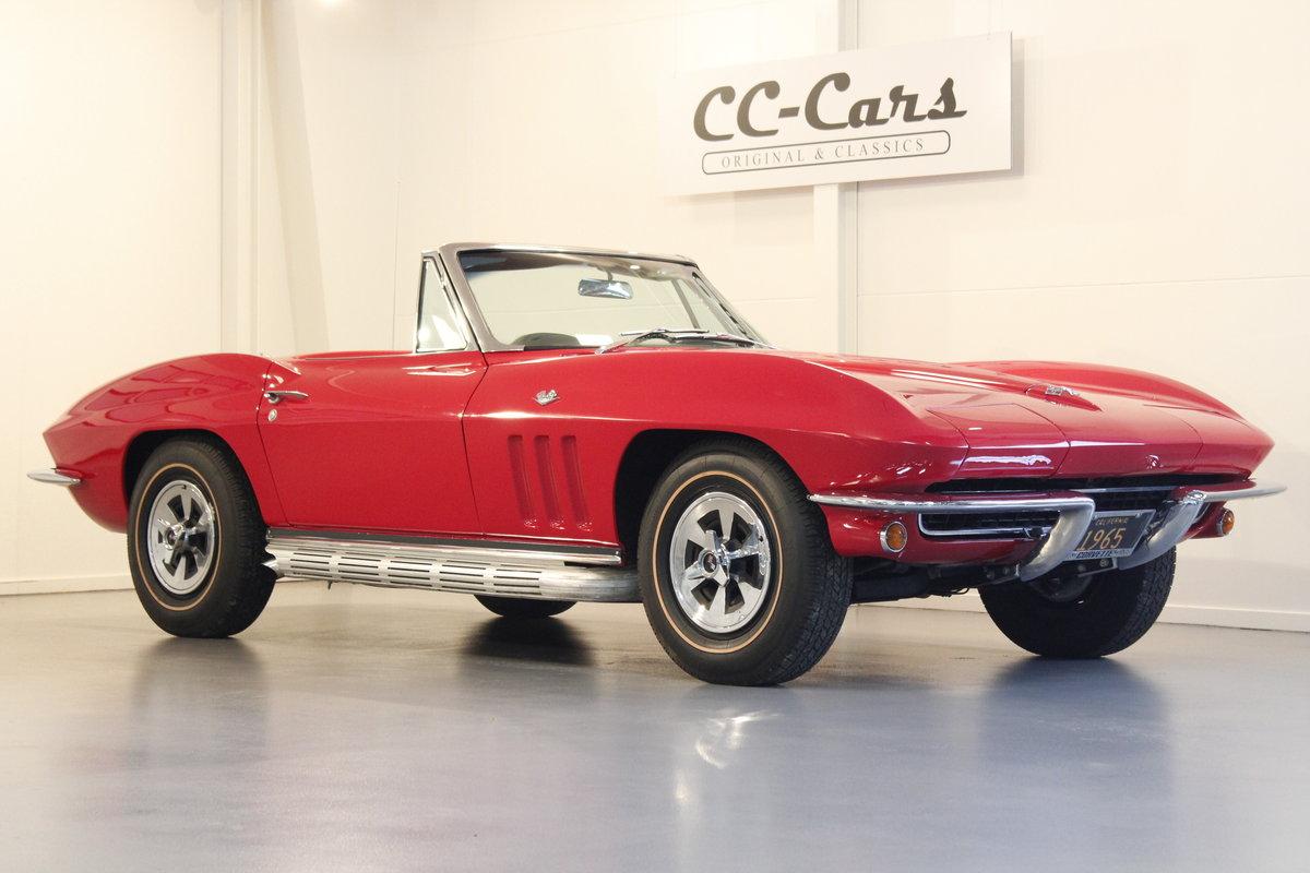 1965 Chevrolet Corvette C2 327 CUI Convertible For Sale (picture 1 of 6)