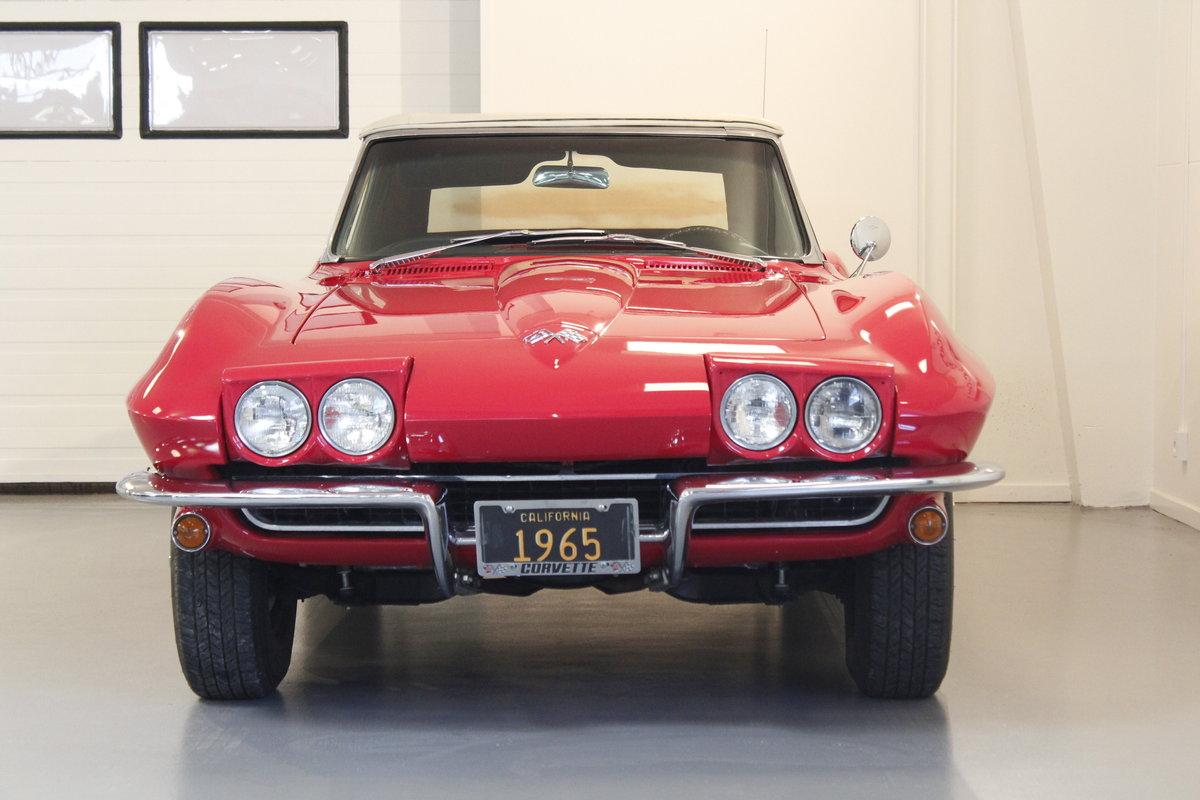 1965 Chevrolet Corvette C2 327 CUI Convertible For Sale (picture 3 of 6)
