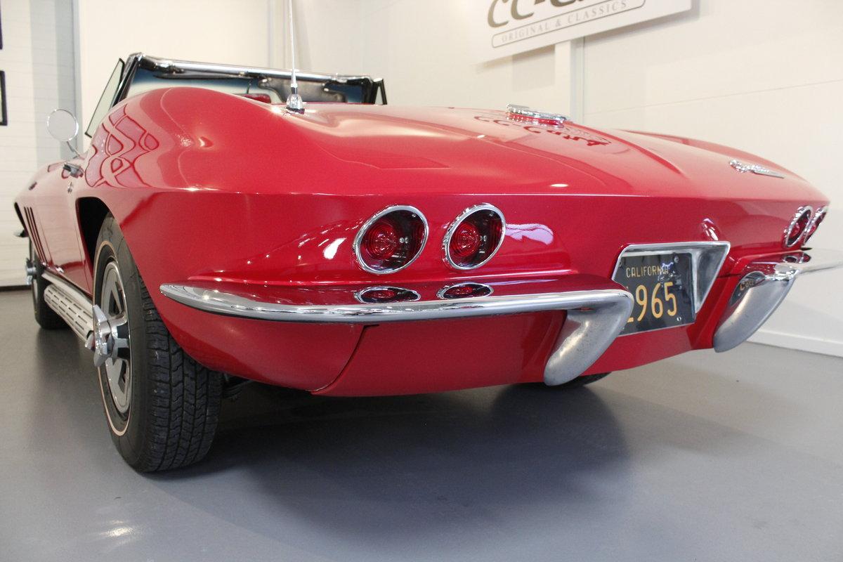 1965 Chevrolet Corvette C2 327 CUI Convertible For Sale (picture 6 of 6)