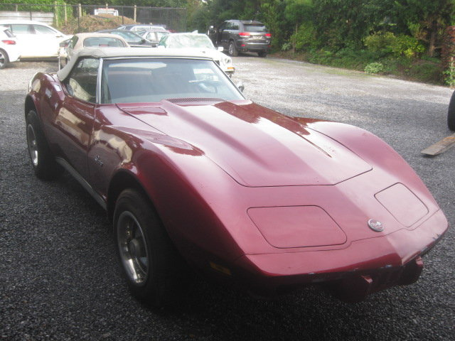 1975 Chevrolet Corvette C3 Cabriolet Stingray 5.7 For Sale (picture 2 of 6)