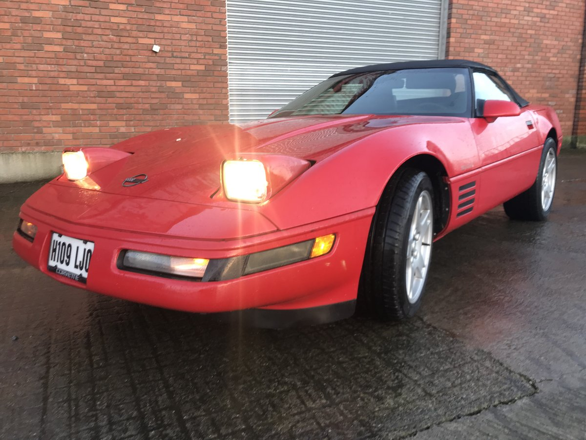 1991 Corvette c4 convertible For Sale (picture 1 of 6)