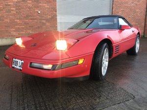 1991 Corvette c4 convertible For Sale