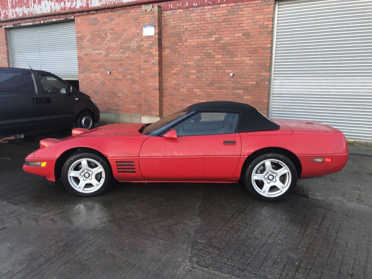 1991 Corvette c4 convertible For Sale (picture 2 of 6)