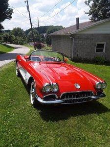 1960 Chevrolet Corvette (Cecil, PA) $69,900 obo