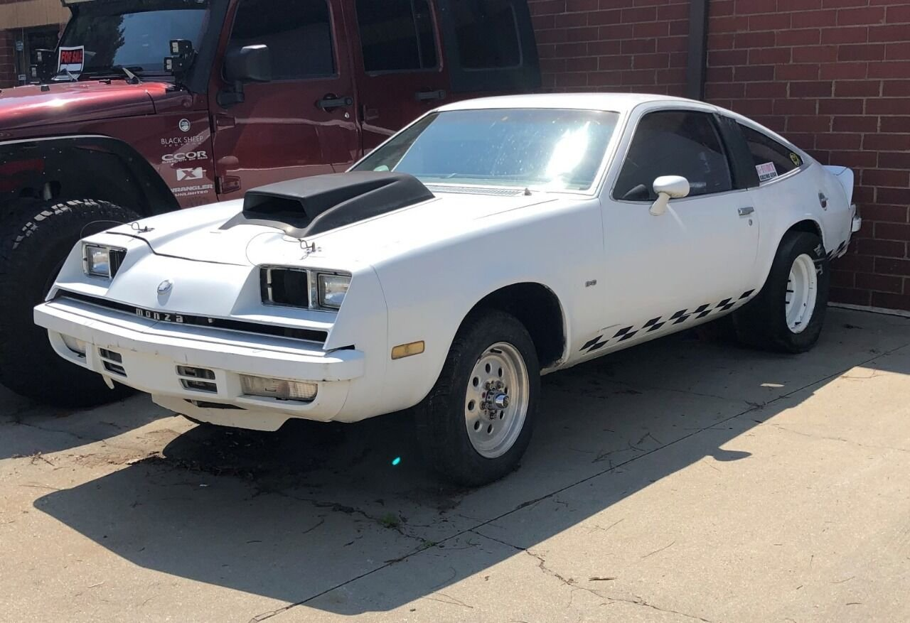 1977 Chevy Monza 2+2 Race car. Roller no engine & transmission SOLD (picture 1 of 6)