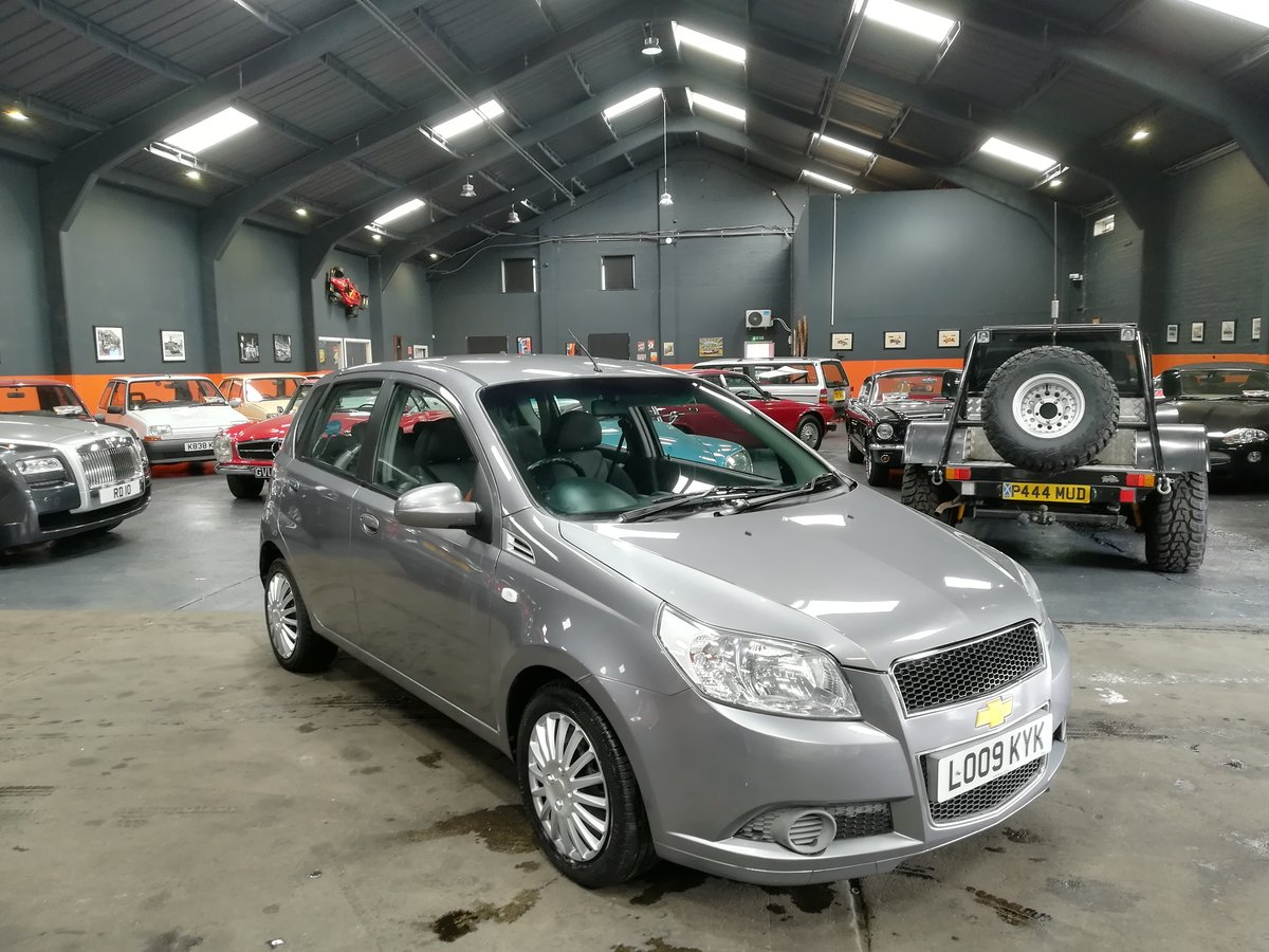 2009 09 CHEVROLET AVEO 1.2 LS 5d 83 BHP For Sale (picture 1 of 6)