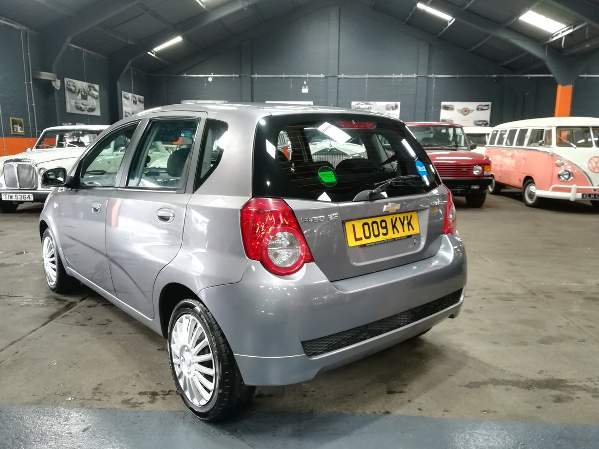 2009 09 CHEVROLET AVEO 1.2 LS 5d 83 BHP For Sale (picture 2 of 6)