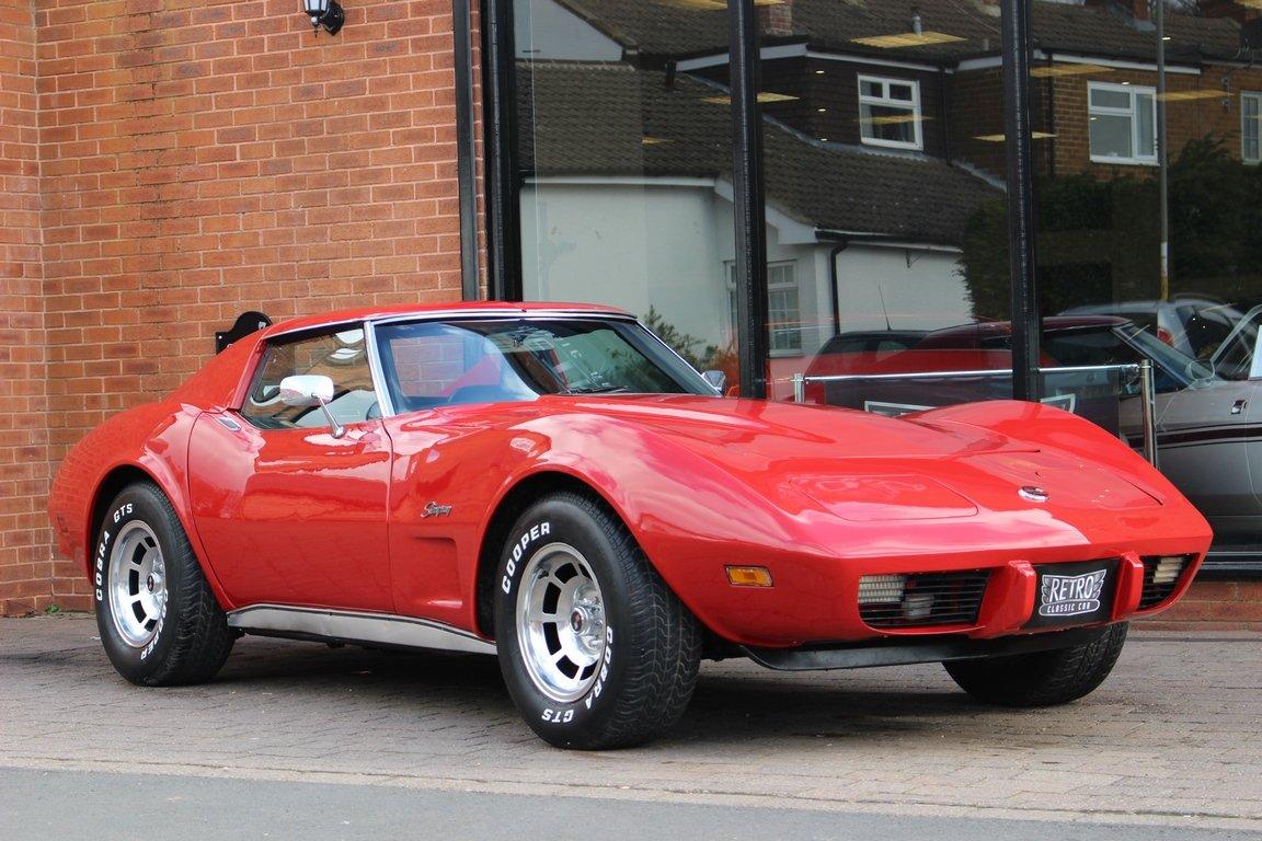1975 Chevrolet Corvette 350 V8 Auto SOLD (picture 1 of 6)