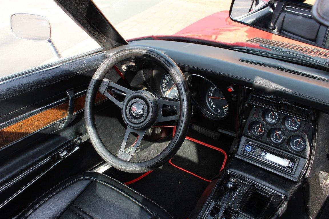 1975 Chevrolet Corvette 350 V8 Auto SOLD (picture 6 of 6)
