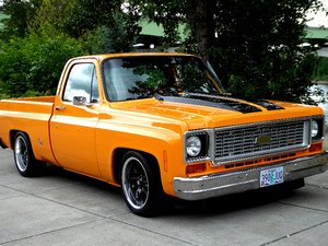 1974 Chevy C-10 Short Bed Pick-Up Truck 496 12 bolt $17.5k For Sale