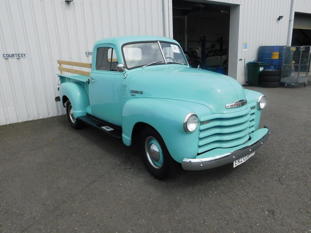 1951 chevrolet 3100 pickup for sale by auction (picture 1 of 3)