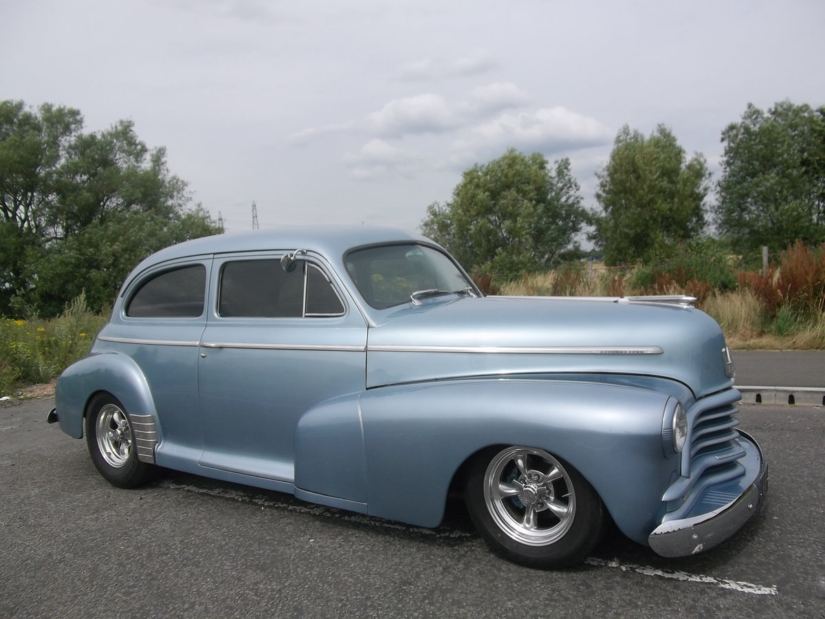 1946 Chevy Coupe 350 V8, 5.7L, Hot Rod,A/C SOLD (picture 1 of 6)