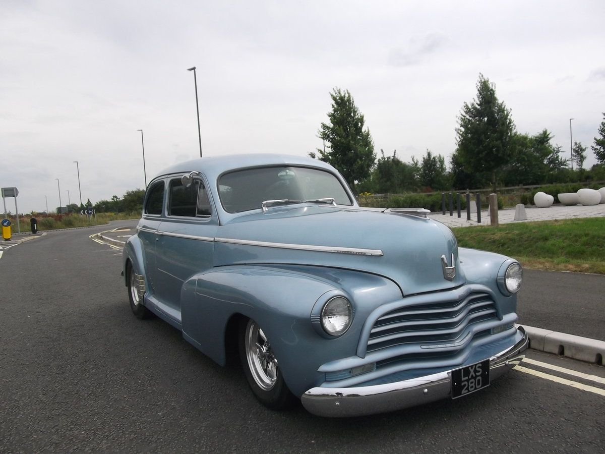 1946 Chevy Coupe 350 V8, 5.7L, Hot Rod,A/C SOLD (picture 4 of 6)