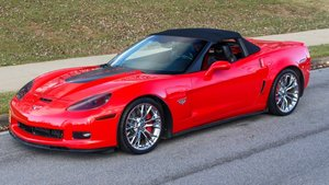 2013 Corvette Supercharged 427 Grand Sport 714-HP $52.9k