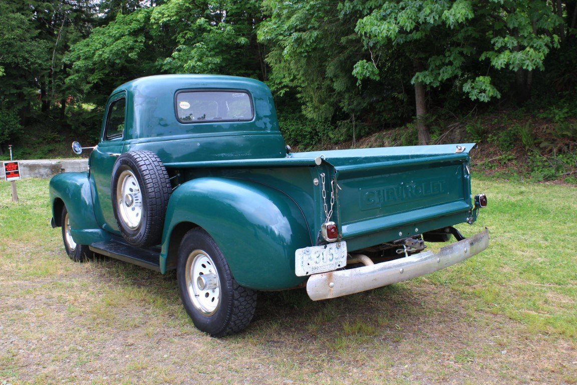 1953 Chevrolet Pickup For Sale (picture 2 of 6)