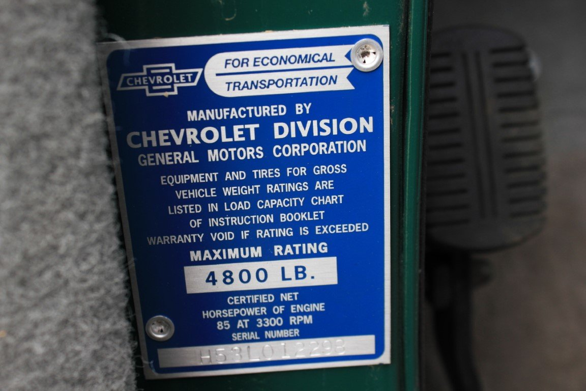 1953 Chevrolet Pickup For Sale (picture 6 of 6)