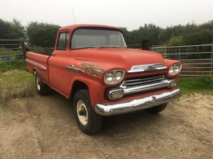 1958 cherolet apache original napco four wheel drive For Sale