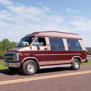 1989  Chevrolet G20 Conversion Van 31k miles Clean $23.9k