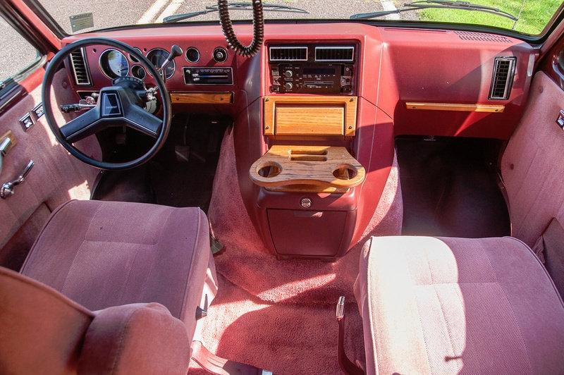 1989 Chevrolet G20 Conversion Van 31k miles Clean $23 9k For