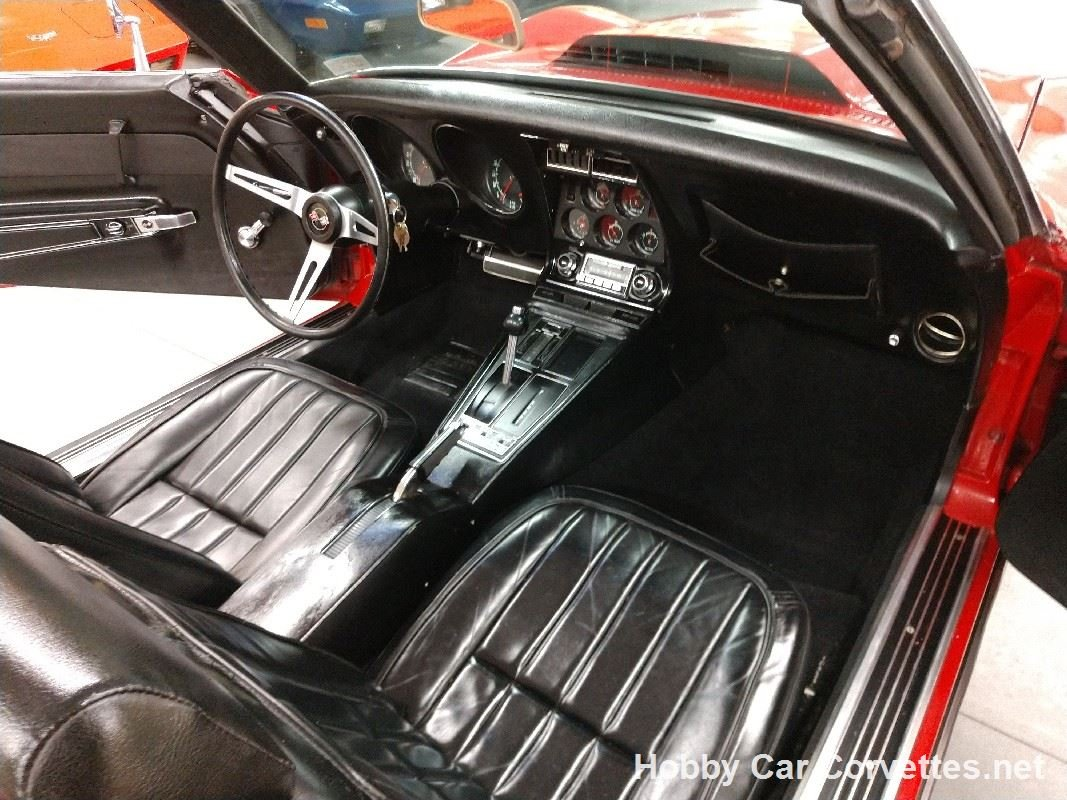 1969 Red Corvette Convertible Hot Rod For Sale (picture 2 of 6)