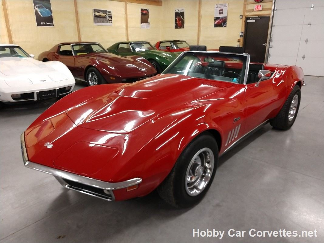 1969 Red Corvette Convertible Hot Rod For Sale (picture 4 of 6)