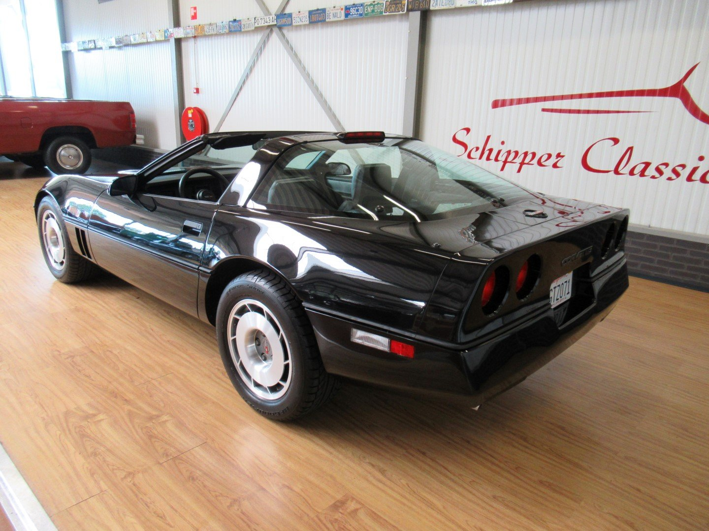 1987 Chevrolet Corvette C4 Targa-Top with just 27.000ML For Sale (picture 3 of 6)