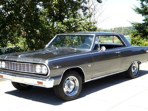 1964 Chevy Chevelle SS Super Sport Coupe = Grey $33.5k For Sale