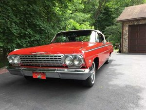 1962 Chevrolet Impala SS Convertible (Hawley, PA) $84,900 For Sale