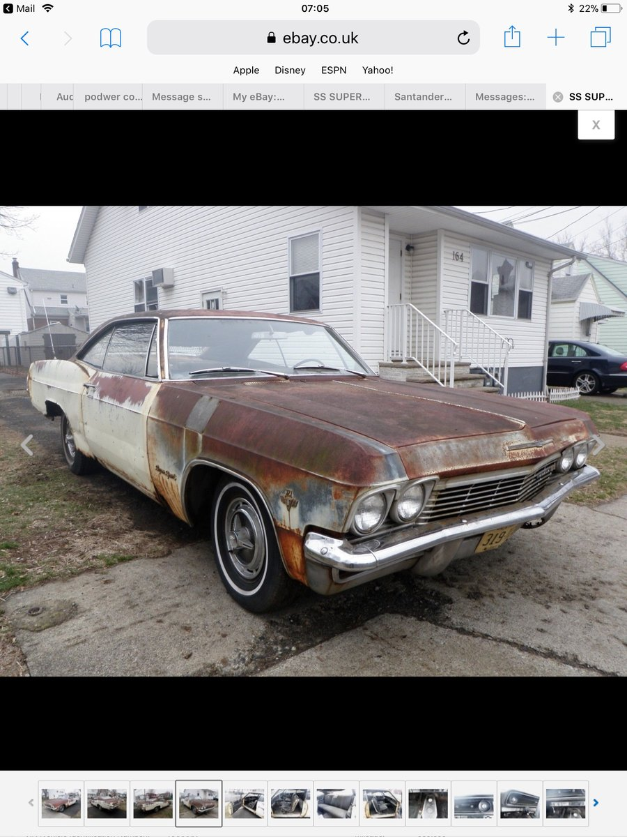 1965 3 Impala projects For Sale | Car And Classic