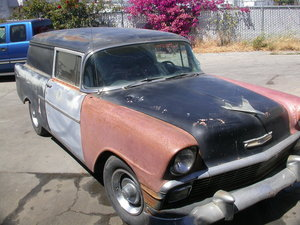 1956 GENUINE SEDAN DELIVERY V8/AUTO $10,250 INCL SHIPPING  For Sale