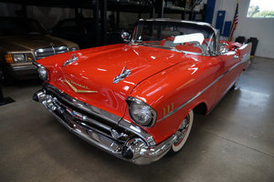 1957 Chevrolet Bel Air 283 V8 Convertible  For Sale