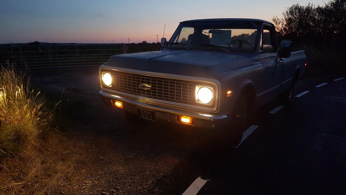 1971 5.7 V8 CHEVROLET C10 PICKUP SOLD (picture 5 of 5)