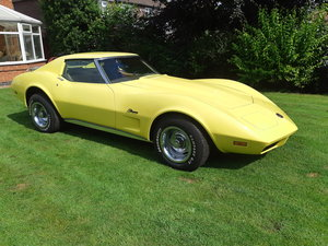 1 owner 1974 Corvette manual restored