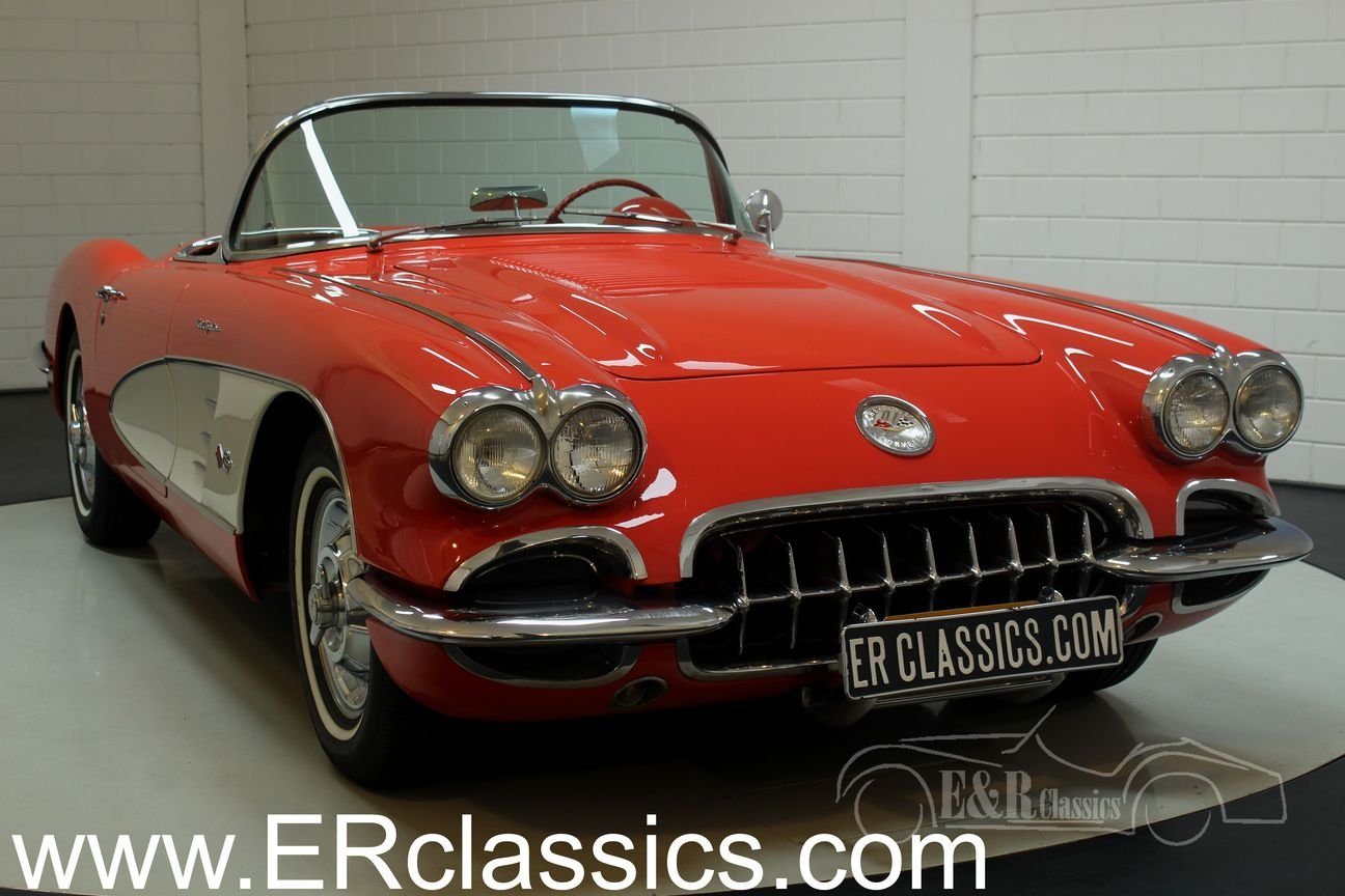 Chevrolet Corvette C1 1958 In very good condition For Sale (picture 1 of 6)