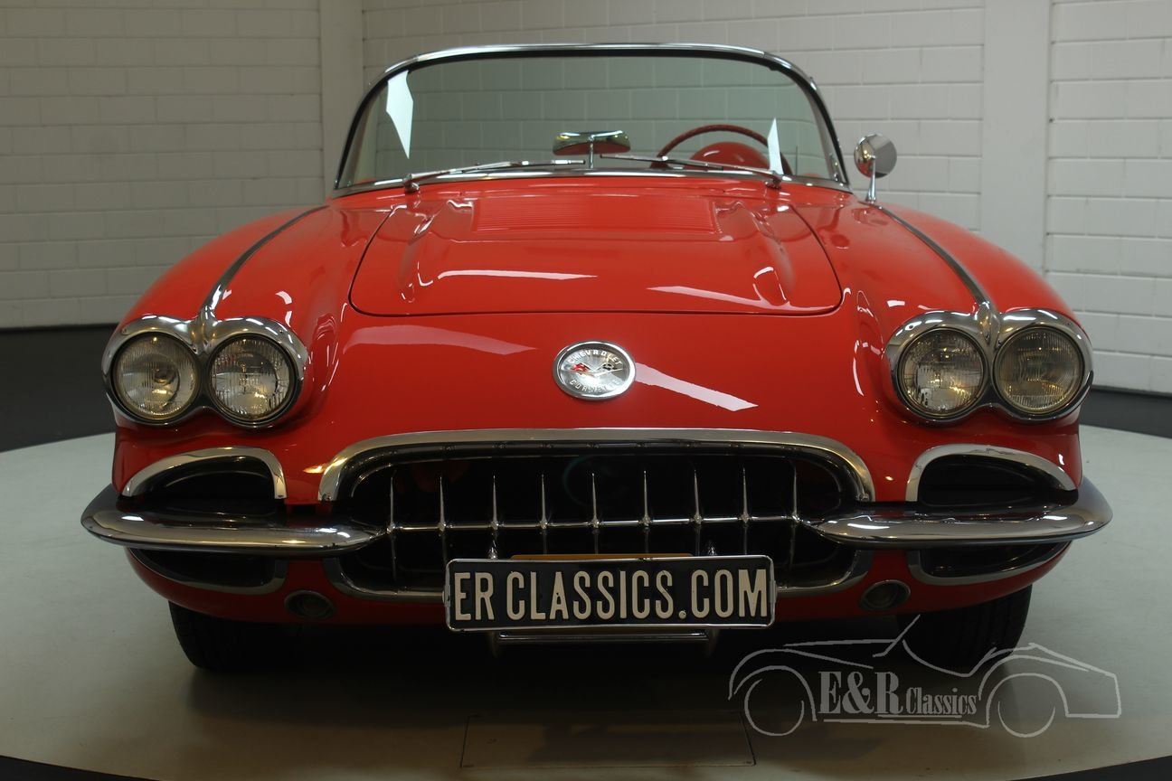 Chevrolet Corvette C1 1958 In very good condition For Sale (picture 4 of 6)