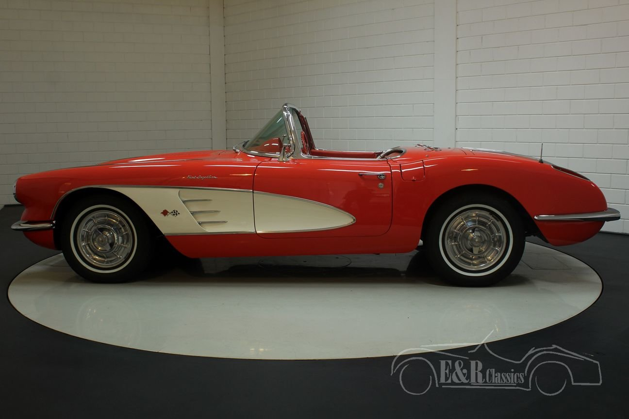 Chevrolet Corvette C1 1958 In very good condition For Sale (picture 5 of 6)