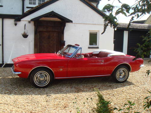 1967 CLASSIC CAR HIRE – Camaro Convertible  - Self Drive For Hire (picture 1 of 6)
