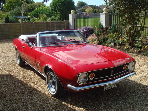 1967 CLASSIC CAR HIRE – Camaro Convertible  - Self Drive For Hire (picture 3 of 6)
