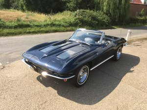 1963 Chevrolet Corvette Roadster - Matching Numbers - Two Tops For Sale
