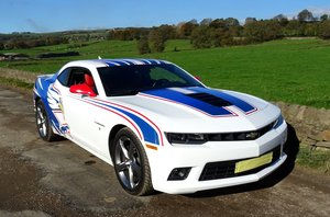 2014 CHEVROLET CAMARO SS 6.2L V8 RACING DECALS AMAZING SOUND For Sale