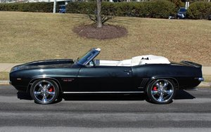 1969 Camaro SS Convertible Pro-Touring LS3-450-HP  $89.9k For Sale