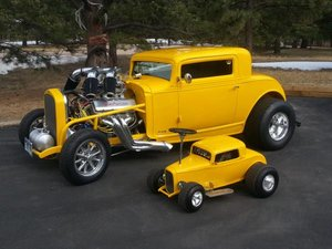 1932 Chevy 3-Window Coupe 1 0ff 1000+HP Winner $69.9k For Sale